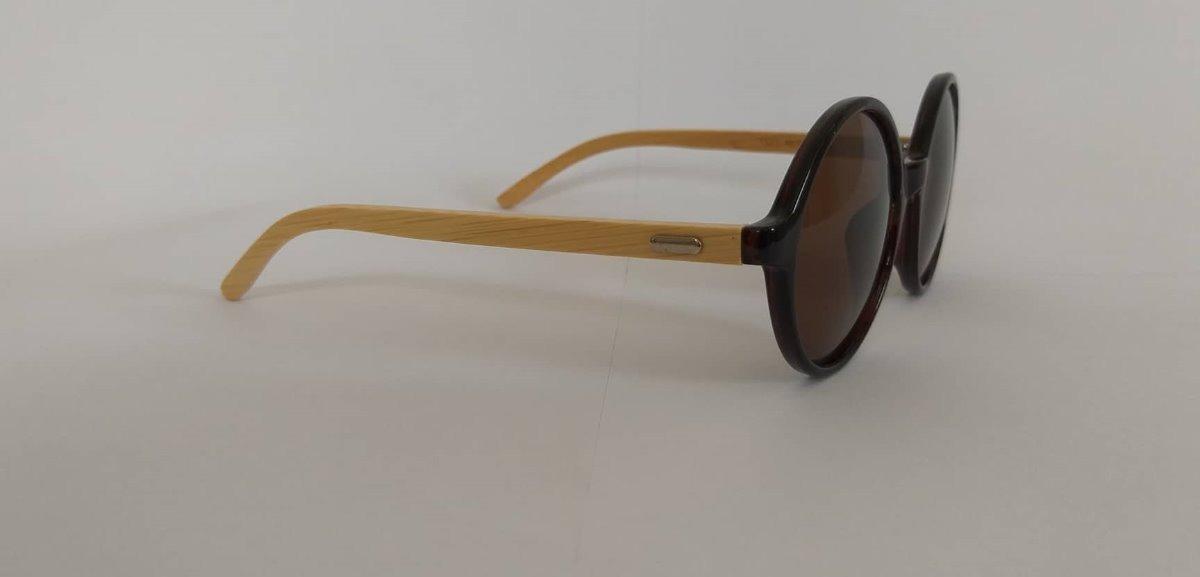 4fa106a15a304 óculos de sol feminino redondo madeira uv-400 estiloso lindo. Carregando  zoom.
