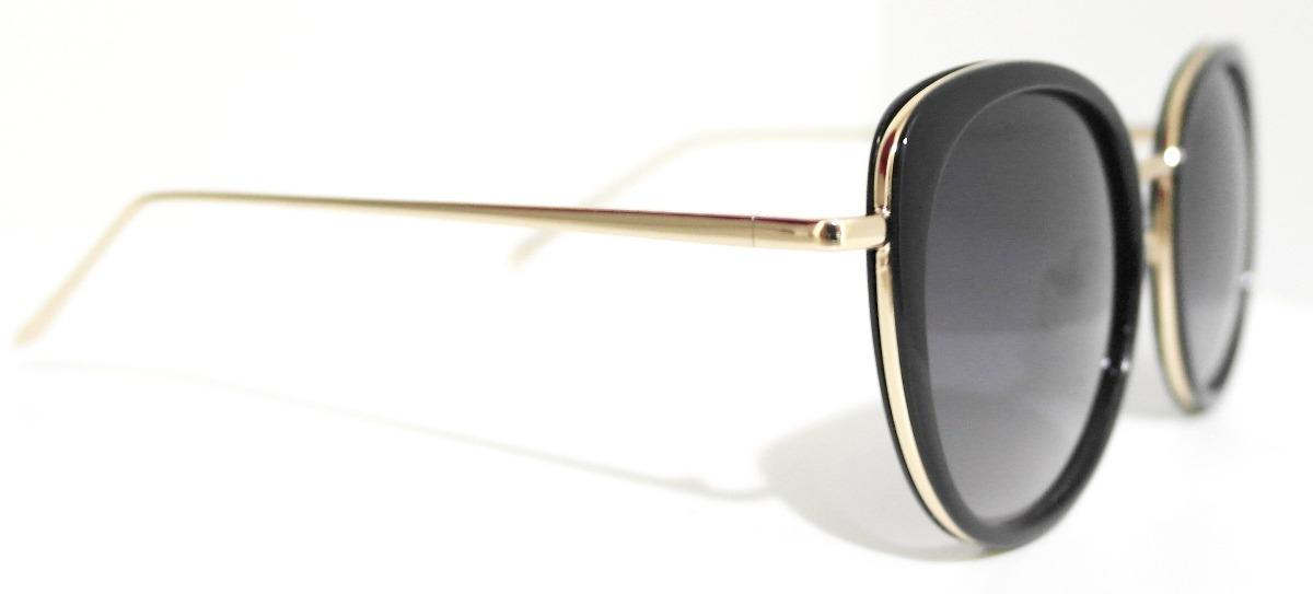 5fa83f5e562fa óculos de sol feminino redondo máscara grande luxo + case. Carregando zoom.