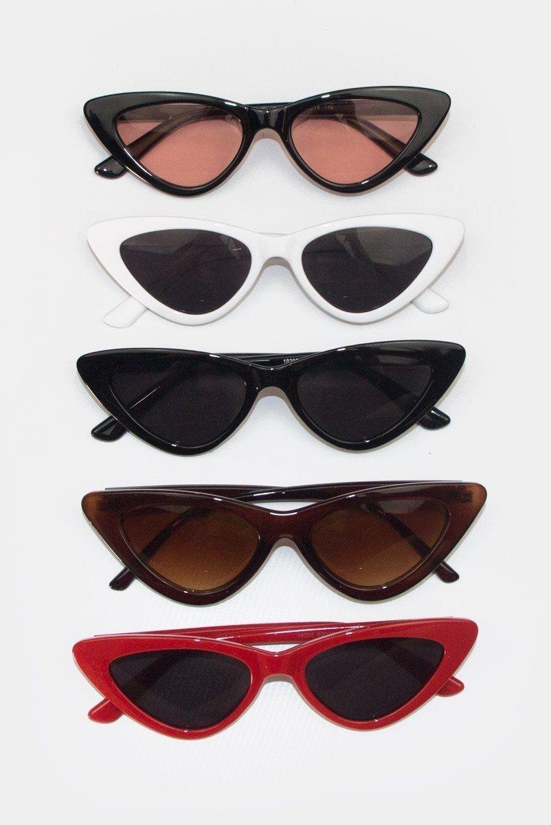 dea3a835e óculos de sol feminino retrô gatinho estiloso proteção. Carregando zoom.