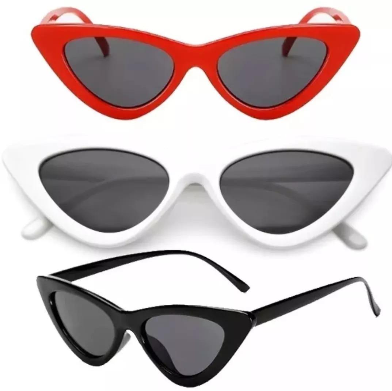 abbeaff8153f5 óculos de sol feminino retrô gatinho estiloso proteção lindo. Carregando  zoom.