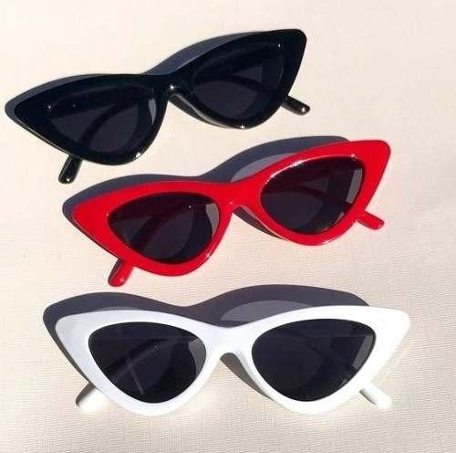 5dbebd007912b Óculos De Sol Feminino Retrô Gatinho Estiloso Proteção Uv - R  35