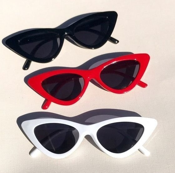 Óculos De Sol Feminino Retrô Gatinho Estiloso Proteção Uv - R  24,48 ... 0184a87a75