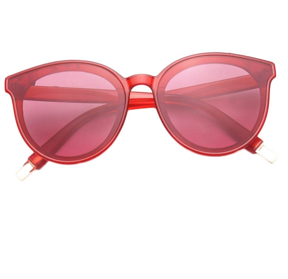 00992563ca6a6 óculos de sol feminino retrô sexy lente uv400 cor vermelha. Carregando zoom.