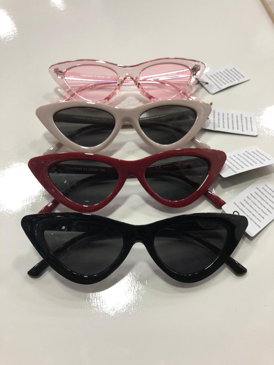 Óculos De Sol Feminino Retro Estiloso Moda Gatinho - R  29,90 em ... ecb2a1ac50
