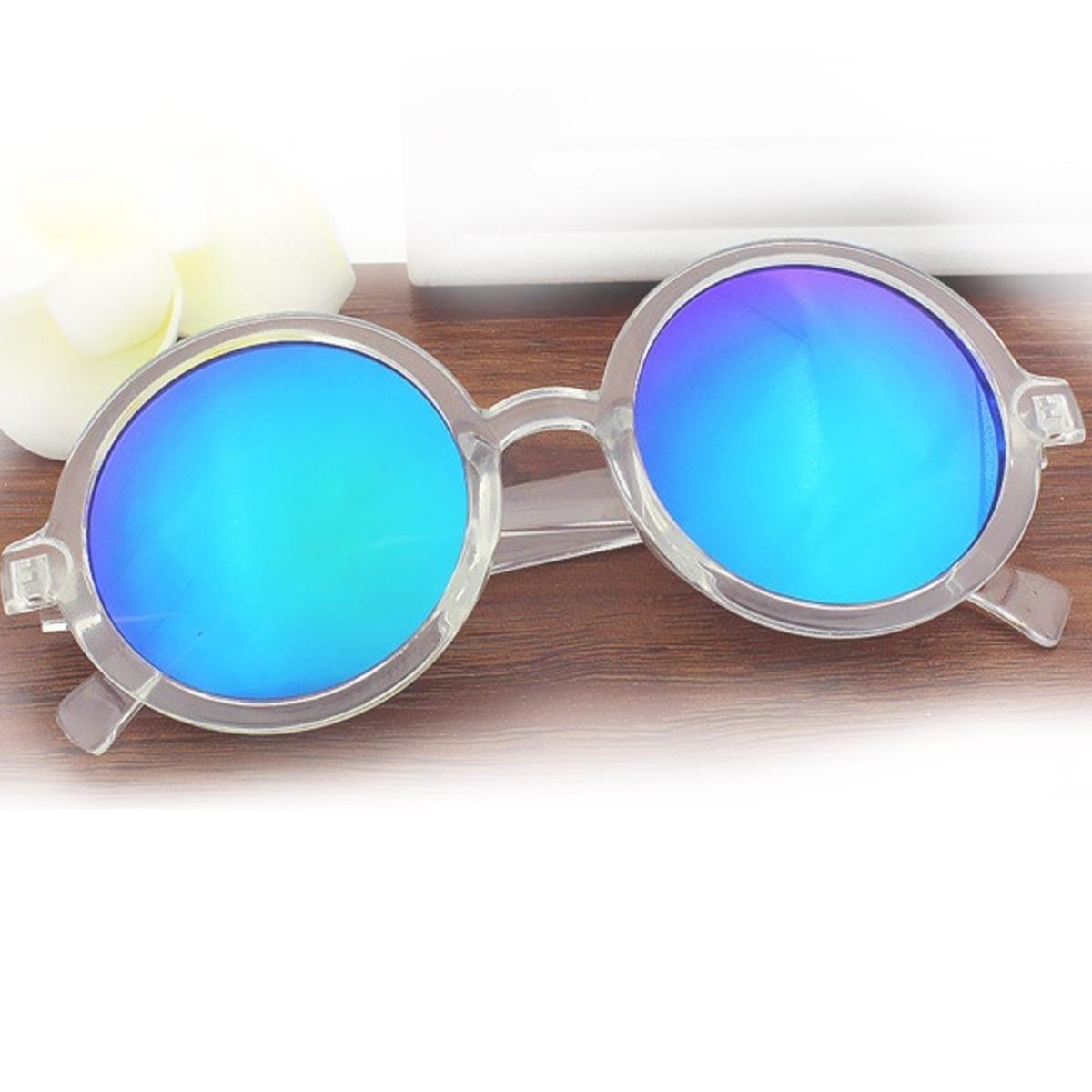 óculos de sol feminino retro vintage espelhado uv + brinde. Carregando zoom. 85a3a1c243