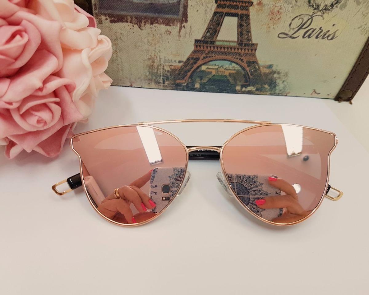 d9d65ffa1 óculos de sol feminino rosa espelhado gatinho original. Carregando zoom.