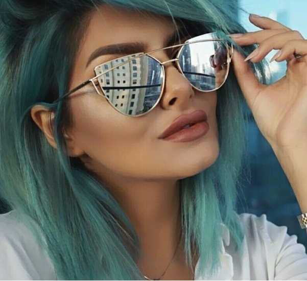 Oculos De Sol Feminino Rosa Espelhado Gucci Premium - R  64,97 em ... 2df4d382a7