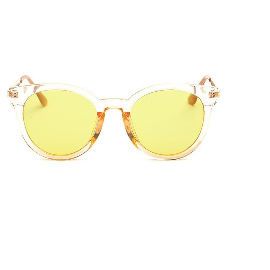 32086b58bd33f óculos de sol feminino transparente estilo retro azul. Carregando zoom.