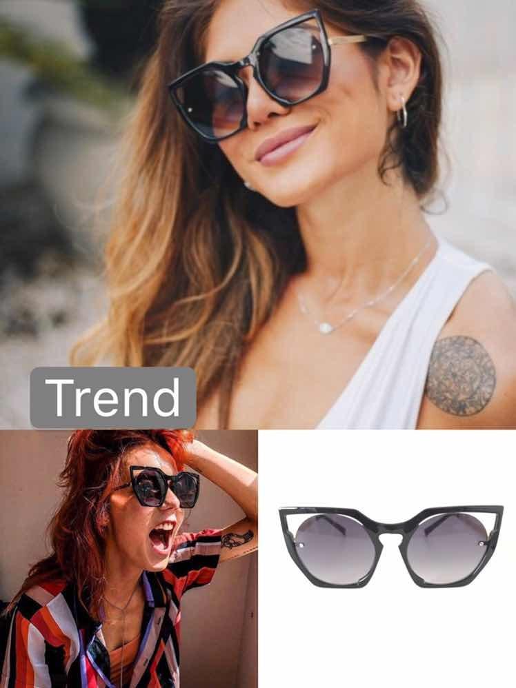 709312e63 óculos de sol feminino trend-o grande estiloso blog. Carregando zoom.