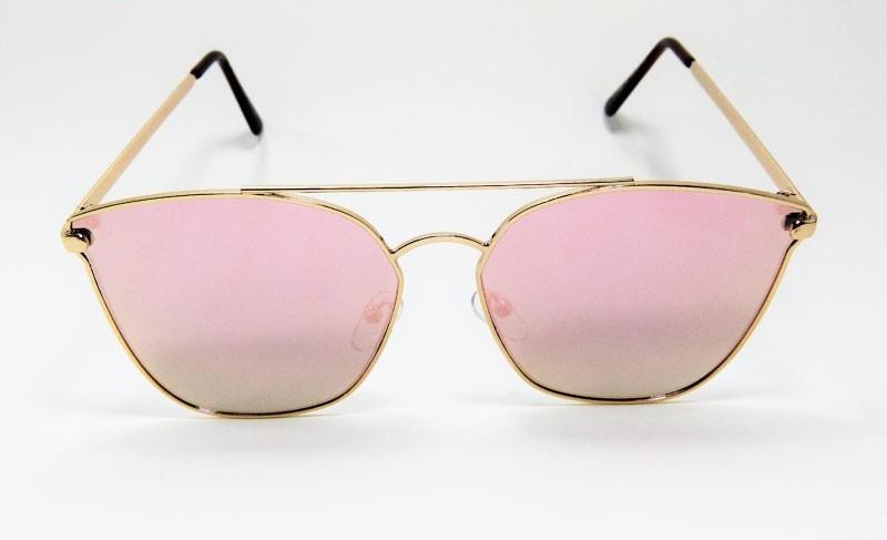 629677aba96a2 óculos de sol feminino vezatto espelhado rosa h01505. Carregando zoom.