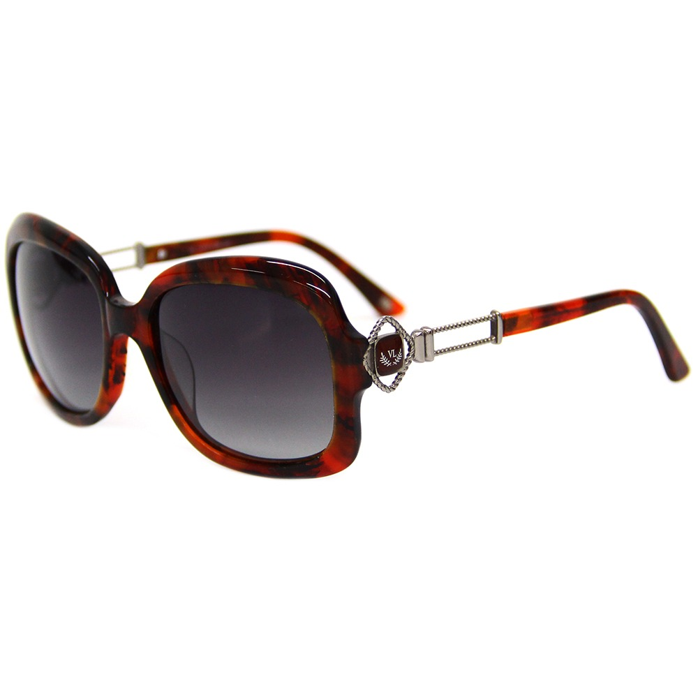 aa3d0b1e4 Óculos De Sol Feminino Via Lorran Vl 1710 Vermelho / Preto - R$ 299 ...