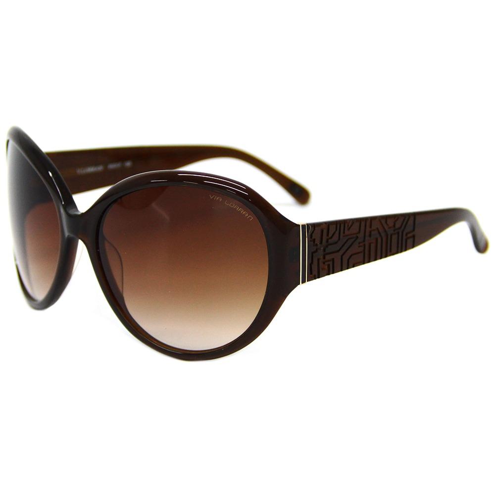 3895614c2 Óculos De Sol Feminino Via Lorran Vl 20 Marrom - R$ 299,00 em ...