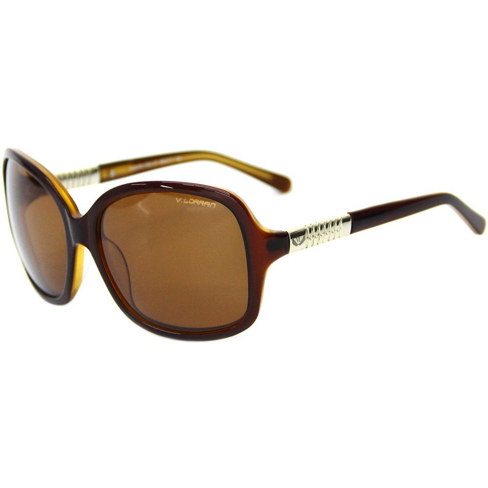 920add8ba Óculos De Sol Feminino Via Lorran Vl 2209 Marrom - R$ 299,00 em ...