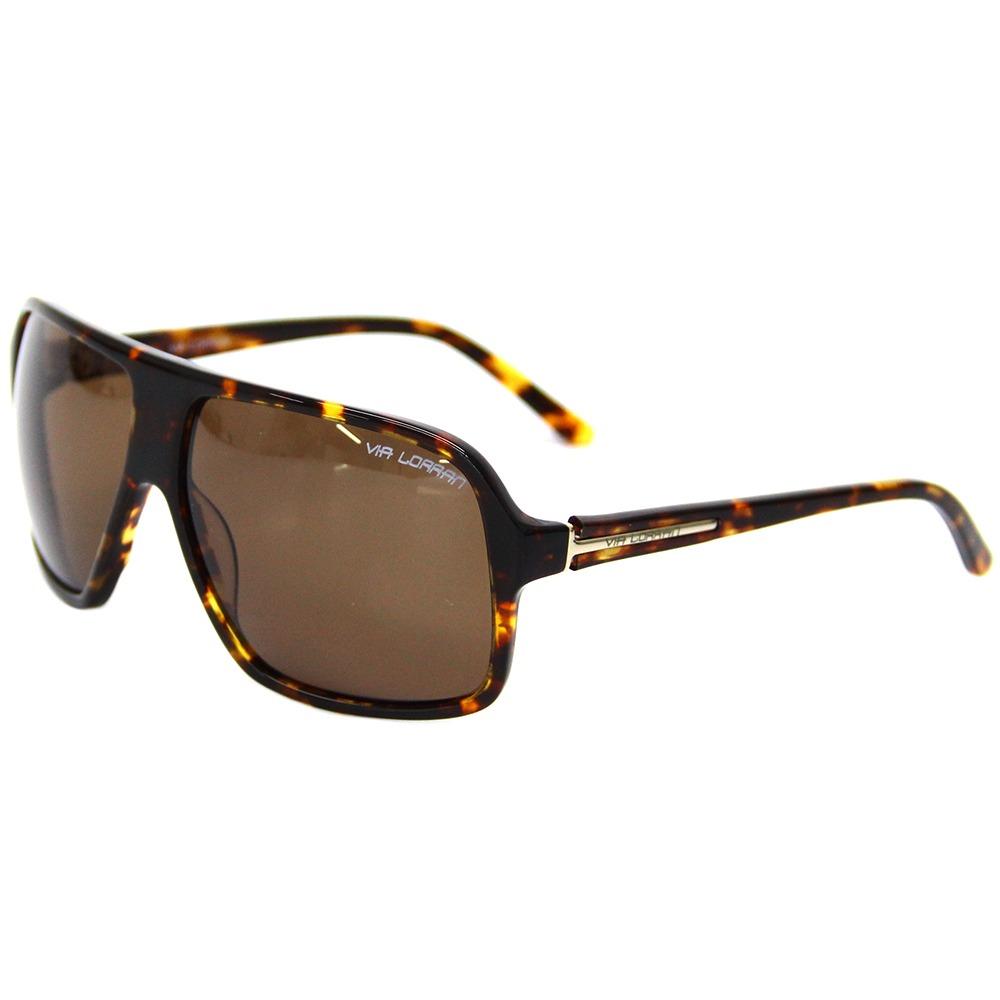 b445d62ca Óculos De Sol Feminino Via Lorran Vl561 Marrom - R$ 299,00 em ...