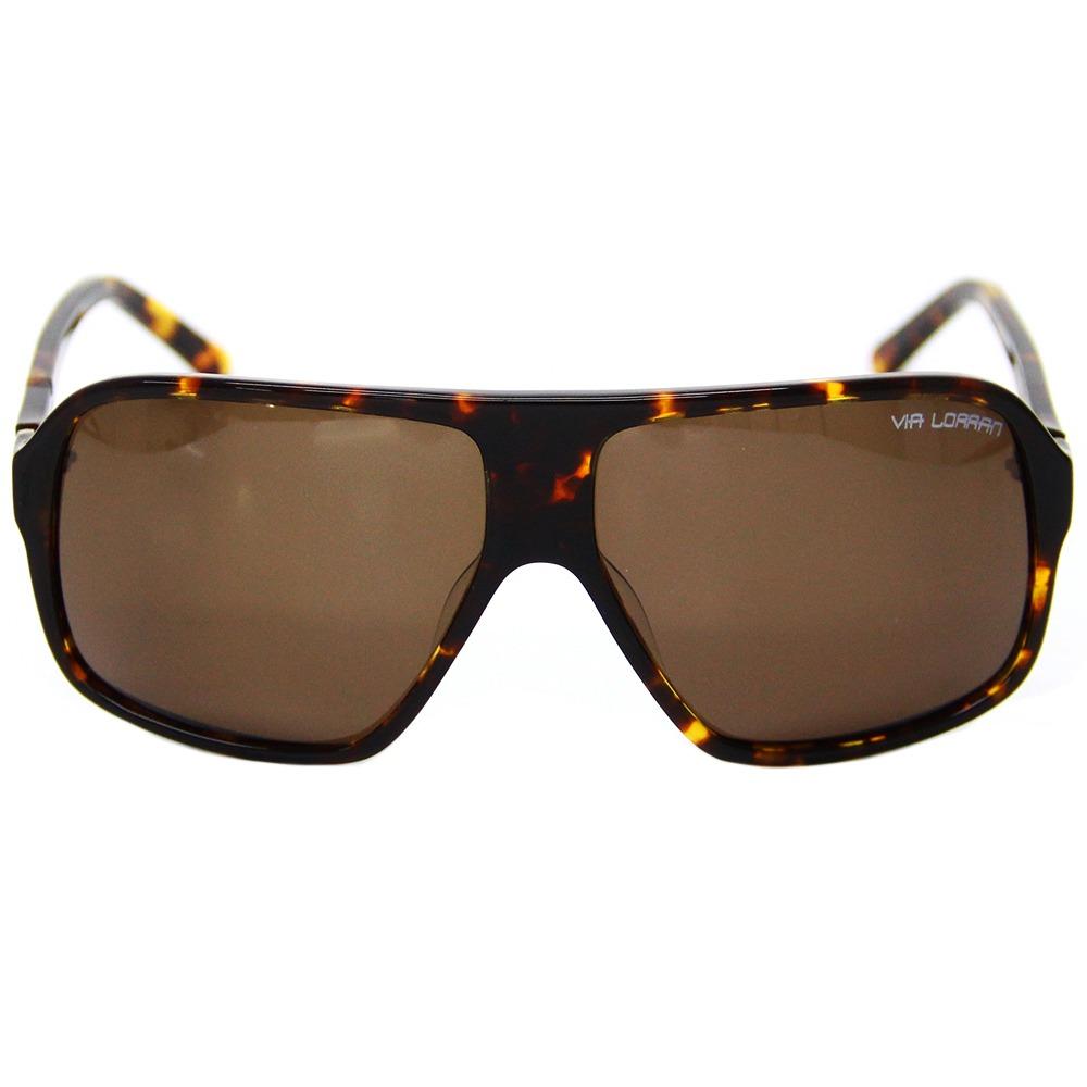 be983965e Óculos De Sol Feminino Via Lorran Vl561 Marrom - R$ 299,00 em ...