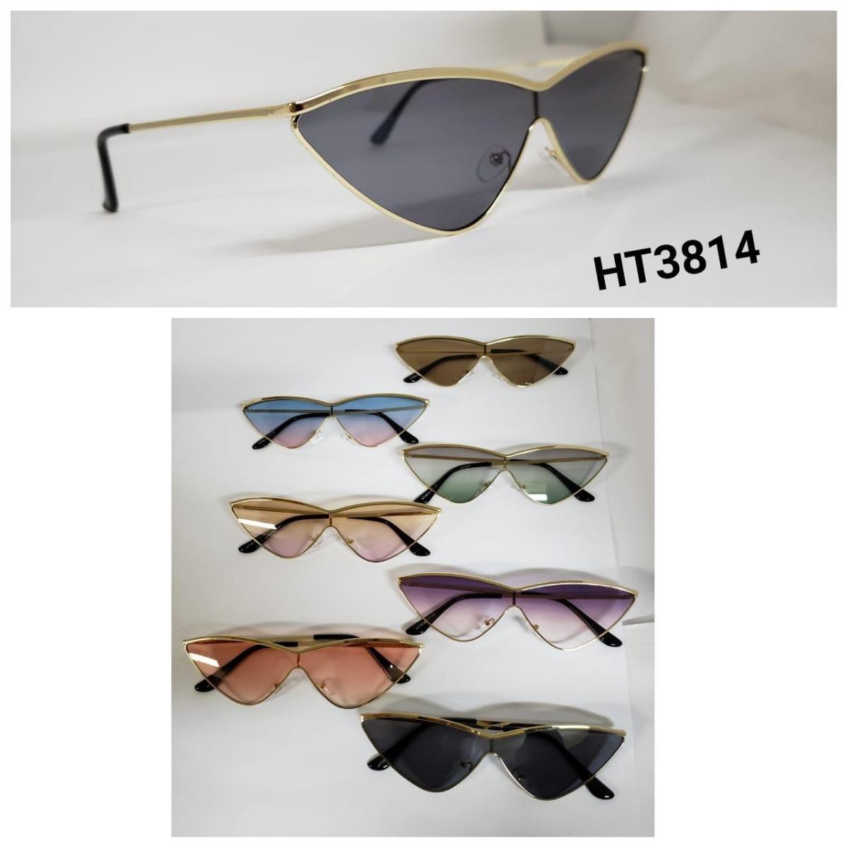 óculos de sol feminino vintage modelo gatinho metal 3814. Carregando zoom. d6586c9e3d