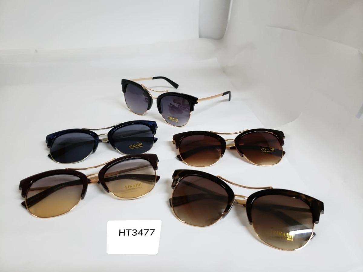 Óculos De Sol Feminino Vintage Modelo Metal 3477 - R  44,95 em ... db29dd0580