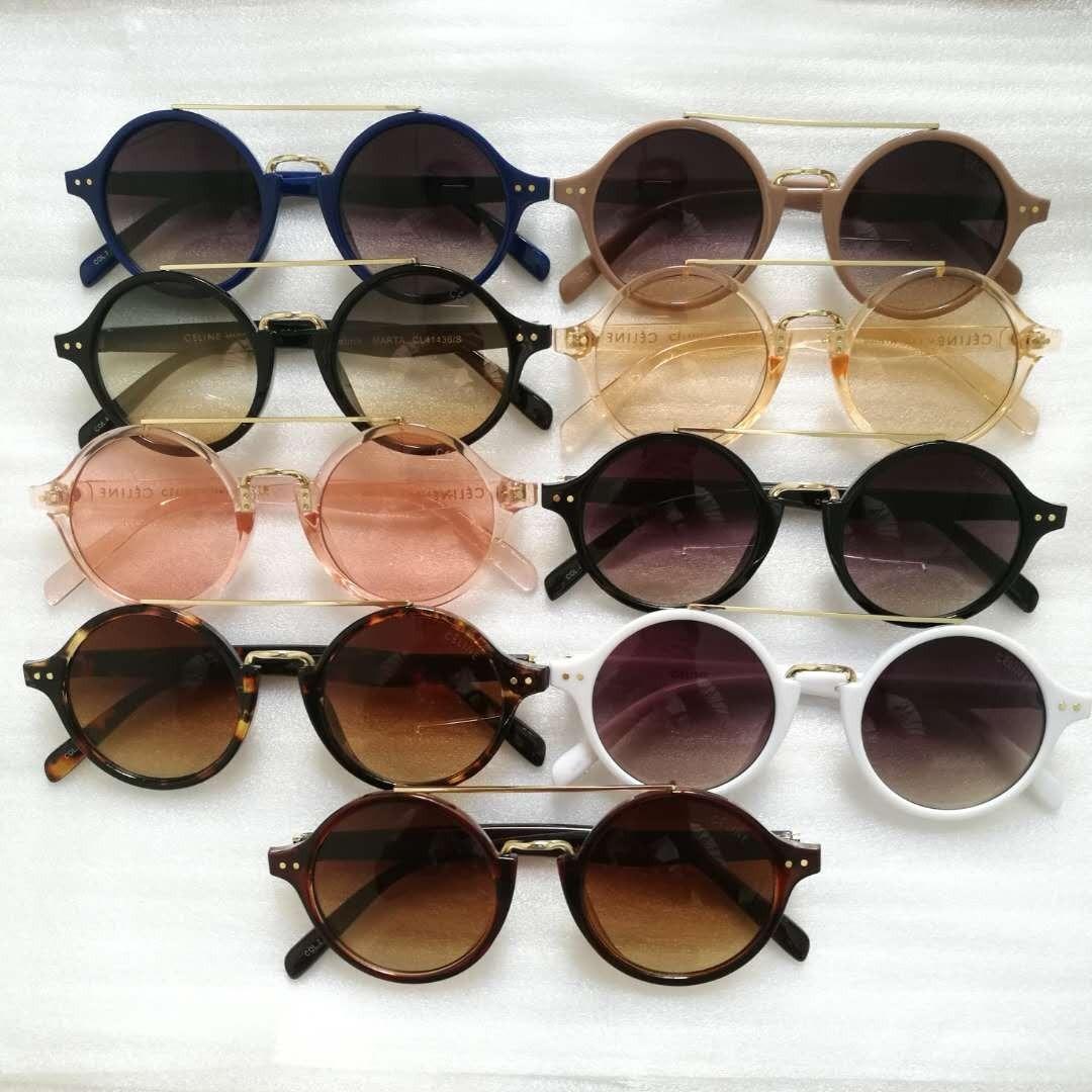 óculos de sol feminino vintage modelo redondo retrô v. cores. Carregando  zoom. 1ec41499dc