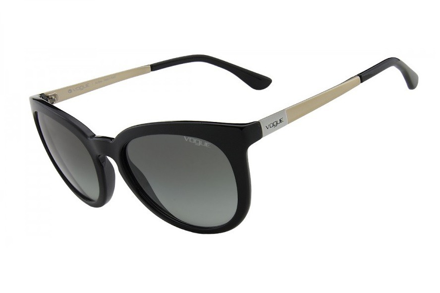óculos de sol feminino vogue vo 2987 sl w44 preto - original. Carregando  zoom. 2de8dc9a5f