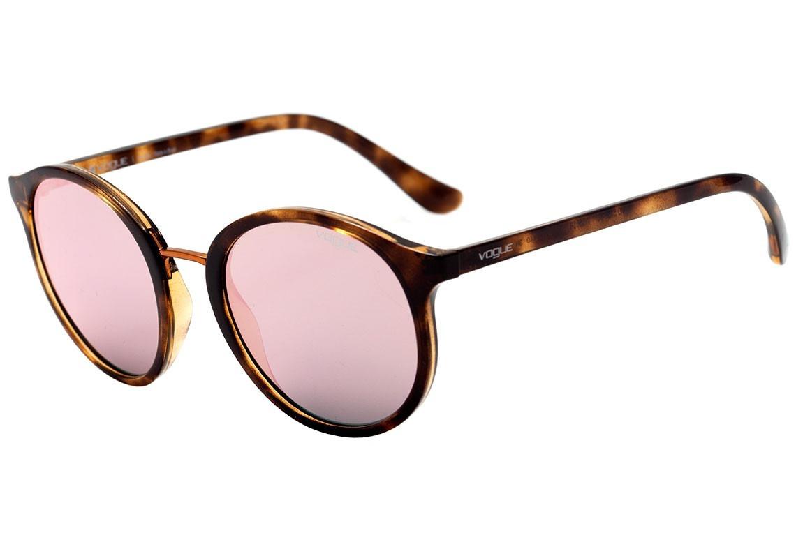 8be2c51f0117d Óculos De Sol Feminino - Vogue Vo 5166 Redondo - Original - R  329 ...