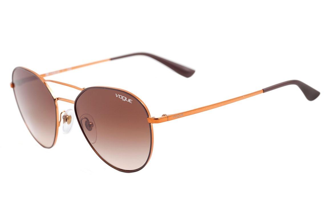 0af4821da889f Óculos De Sol Feminino Vogue Vo4060 502113 - Original - R  299,00 em ...