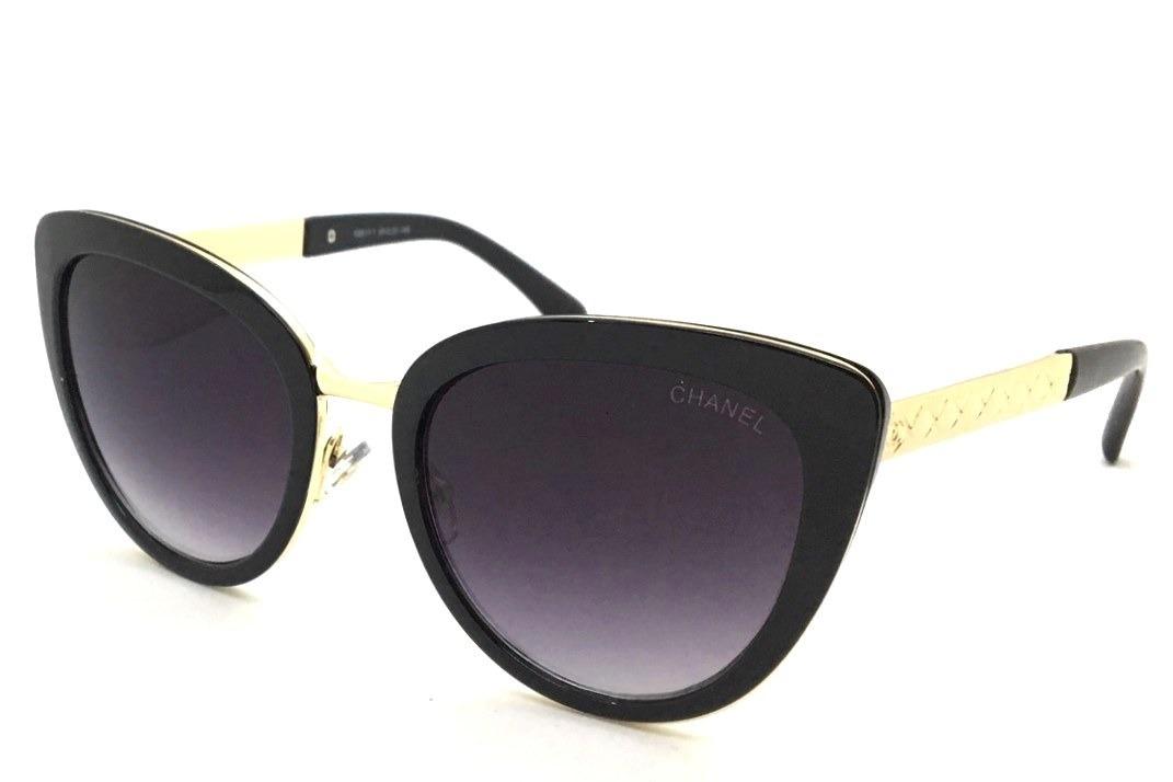 oculos de sol feminino wayfarer prime chanel gatinho uv400. Carregando zoom. b77fdae341