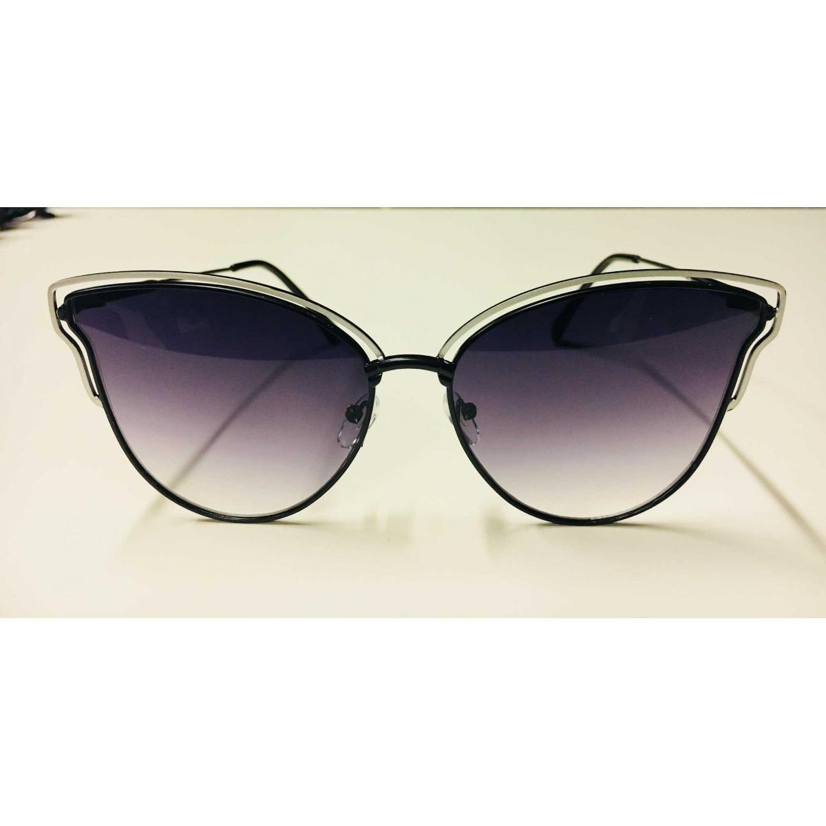 82d79a0704f7c óculos de sol feminino wiikglass borboleta moda 2018 preto. Carregando zoom.