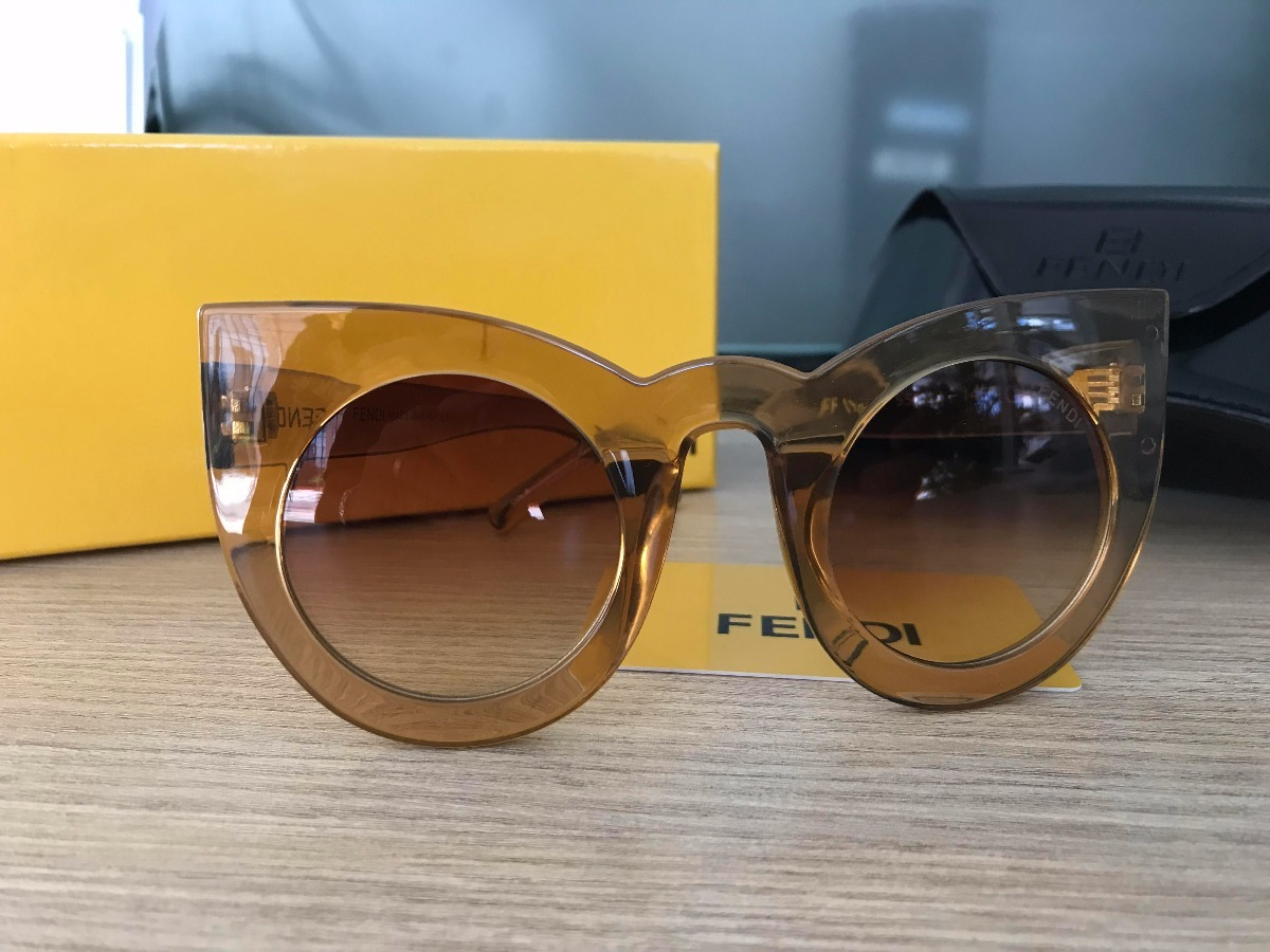 Óculos De Sol Fendi Cateye Gatinho Ff1180 s - R  250,00 em Mercado Livre cf8486b6d0