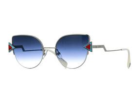 ef856855c Oculos Fendi Eyelline Prata - Óculos no Mercado Livre Brasil