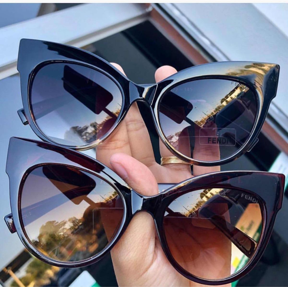 Óculos De Sol - Fendi Gatinho Feminino - R  89,90 em Mercado Livre ccf7639327