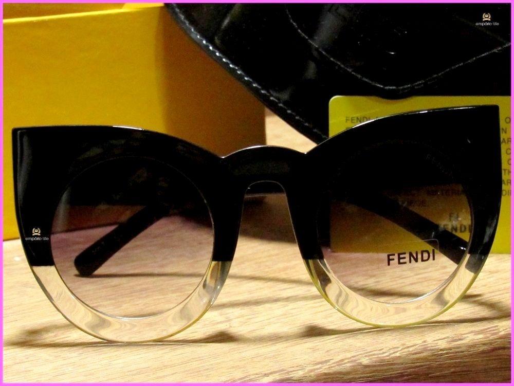 92ecb42c9 Óculos De Sol Fendi Lolly Acompanha Todos Acessórios *1037* - R$ 199 ...