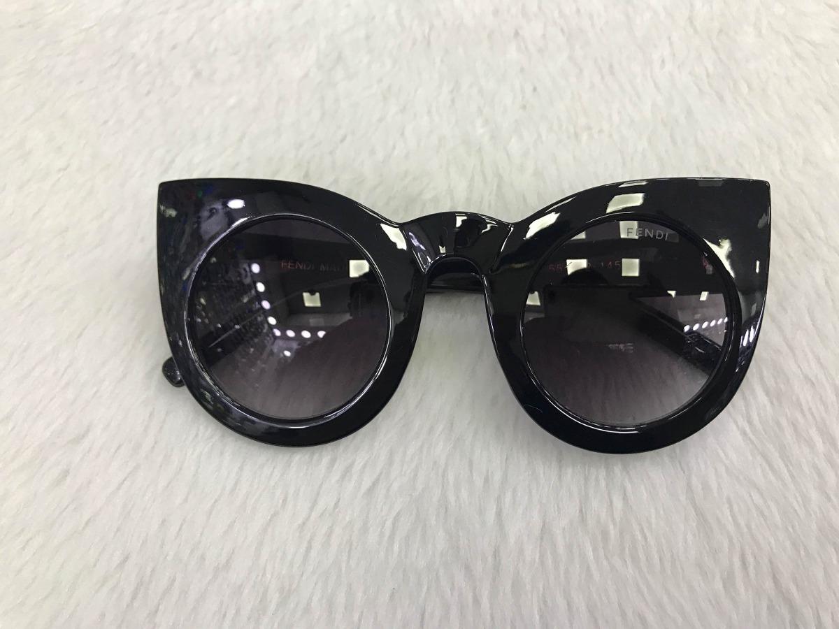 7635f37d59608 óculos de sol fendi lolly feminino gatinho lançamento 2018. Carregando zoom.