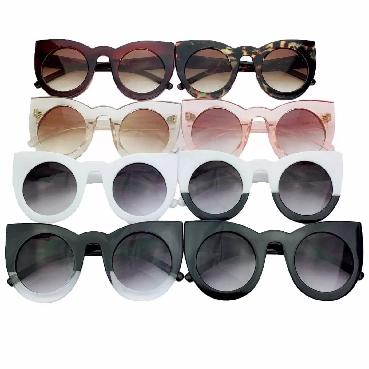 685334984aa64 óculos de sol fendi lolly gatinho + brinde. Carregando zoom.