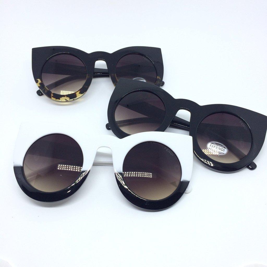 óculos de sol fendi lolly gatinho moderno tartaruga mulher. Carregando zoom. c5c0da03af