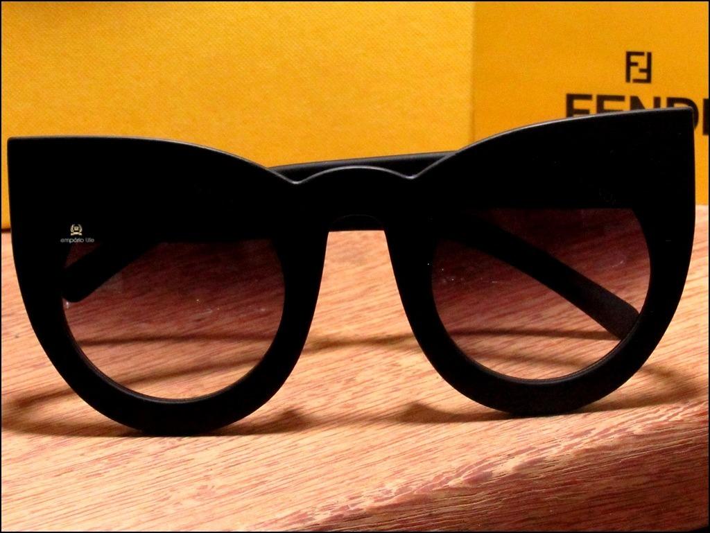 401cc56a3aa22 Óculos De Sol Fendi Lolly Polarizado Imagens Reais  1112  - R  89