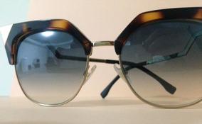 21270b565 Óculos De Sol Meio Aro Aste - Óculos no Mercado Livre Brasil