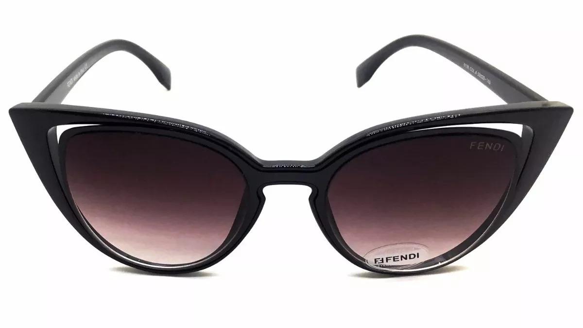Oculos De Sol Fendi Paradeyes Cat Preto Luxo - R  69,99 em Mercado Livre 72490aa14f