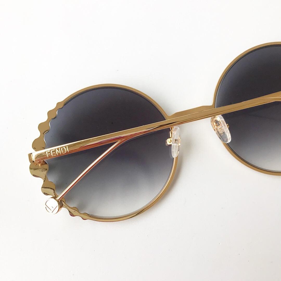5d876f8f95e85 óculos de sol fendi pearls feminino pérola redondo round. Carregando zoom.