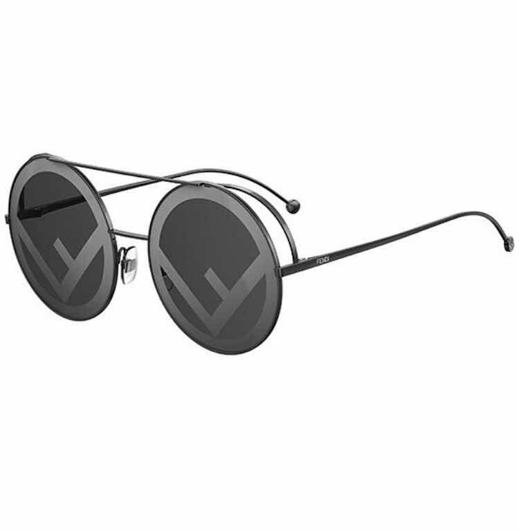 7f8a26818d9c6 Óculos De Sol Fendi Run Away Redondo Round Feminino Masculin - R ...