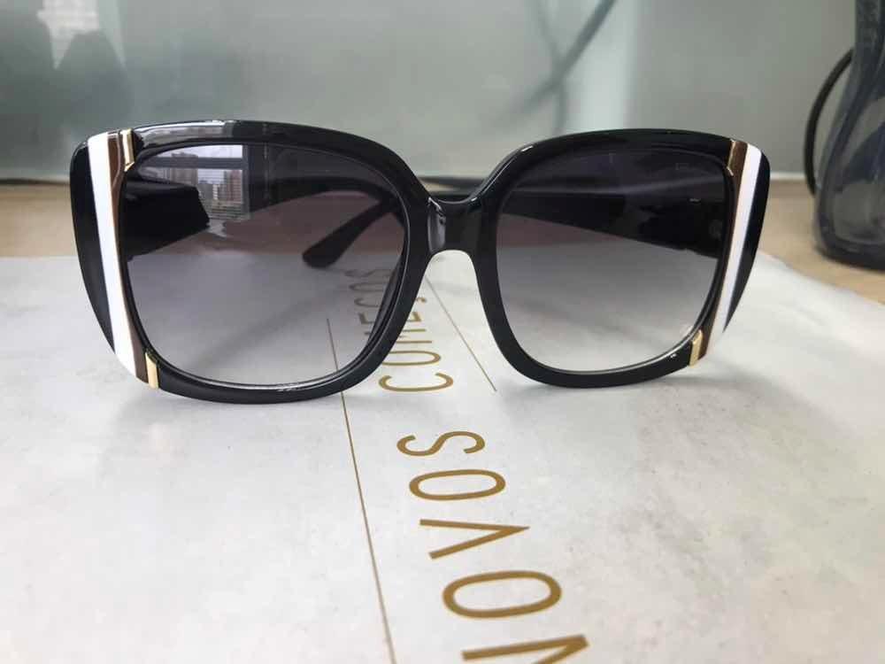 9e4cf190d óculos de sol ferragamo preto degradê quadrado feminino. Carregando zoom.