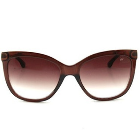 55728b52a Óculos De Sol Ferrovia Tipo Gatinho Com Proteção Uv Nas Lent