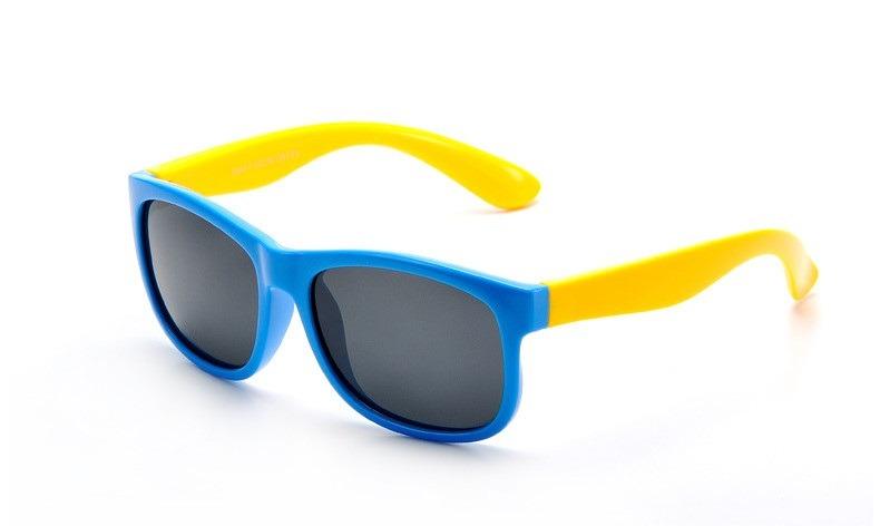 afae89a95fe17 Oculos De Sol Flexivel Infantil Criança Polarizado Unissex - R  75 ...