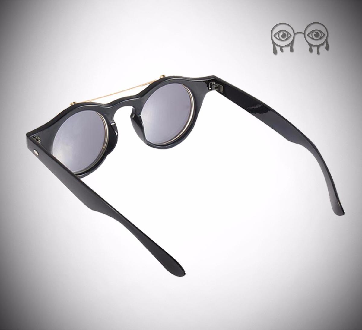 1e2b7a638e086 Óculos De Sol Flip Up Lente Dupla Unissex Deep Vision - R  135,00 em ...