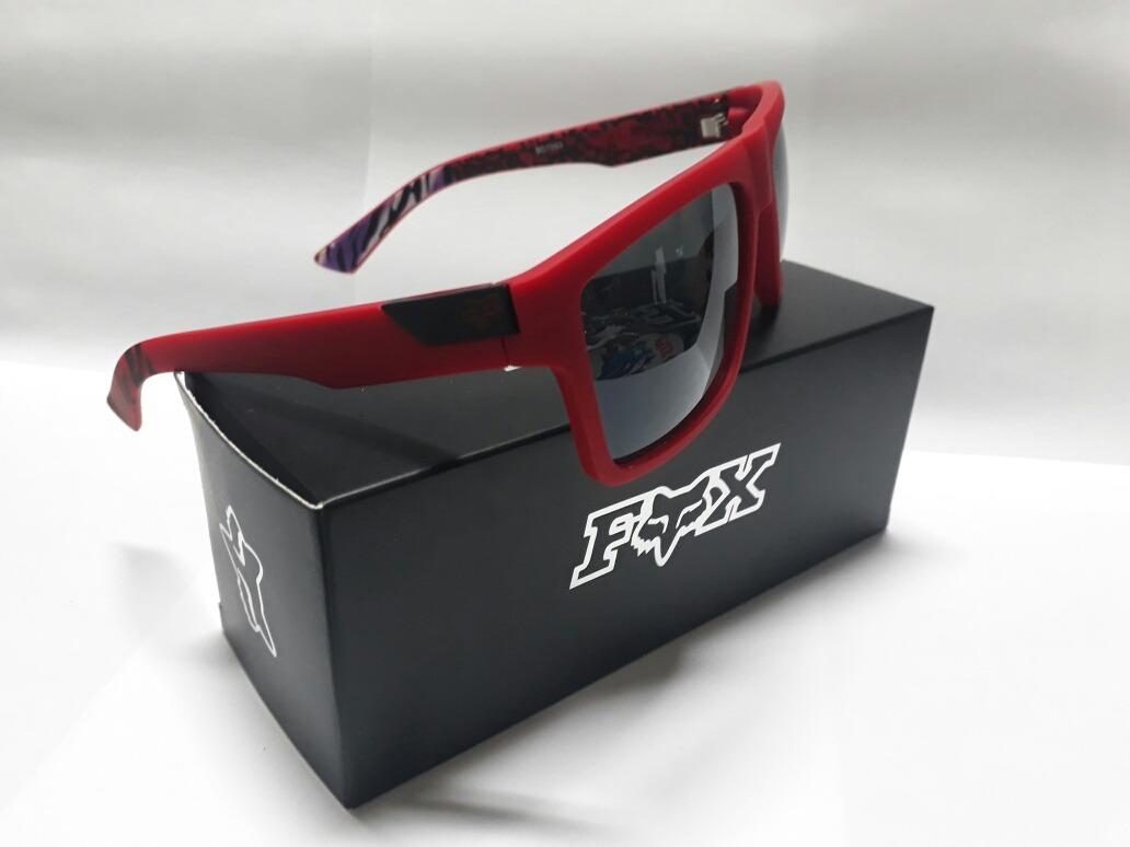 Óculos De Sol Fox The Director Vermelho - R  199,00 em Mercado Livre cdcd450e6e