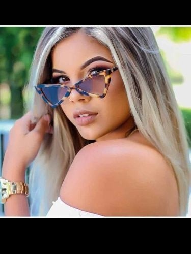 Óculos De Sol Gatinho Anitta Pontudo Chic Fashion 2018 Frete - R ... 488c654aea