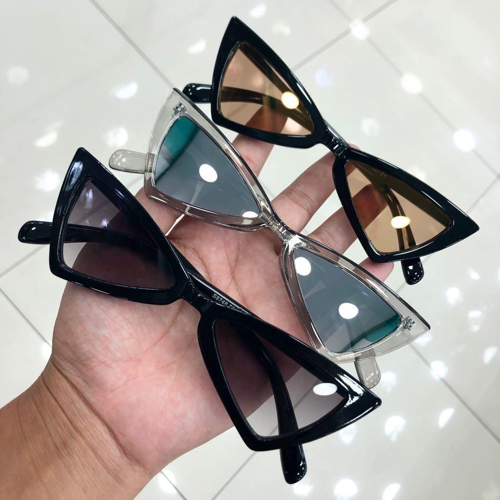49f15b34391d5 óculos de sol gatinho anitta pontudo chic fashion 2018 frete. Carregando  zoom.