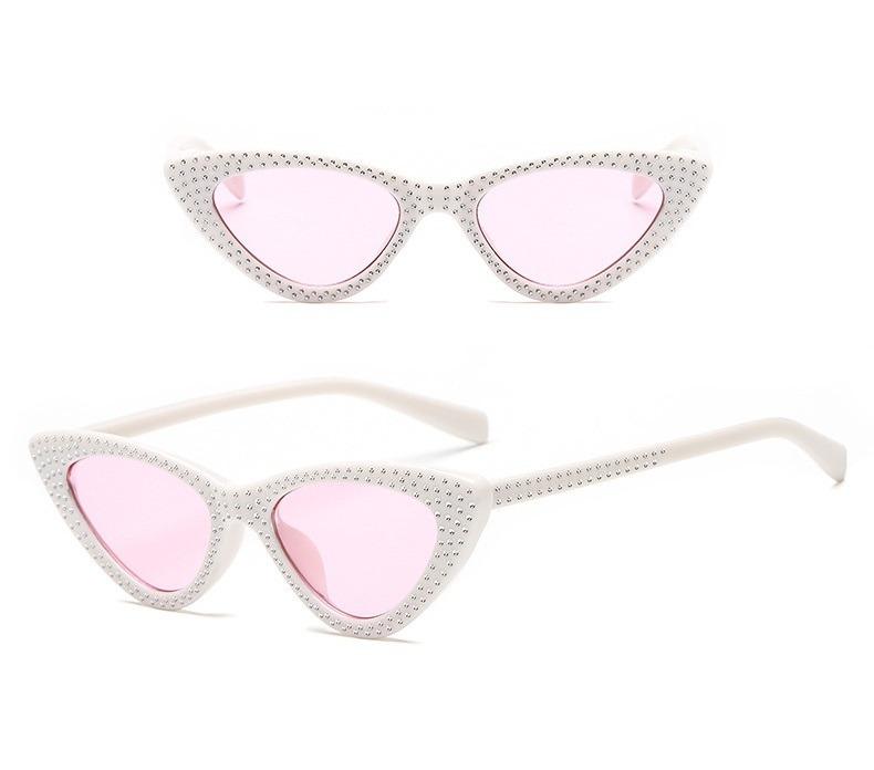 3db059008 Óculos De Sol Gatinho Cat Eye Lolita Brilhos Le Specs Tumblr - R$ 59 ...