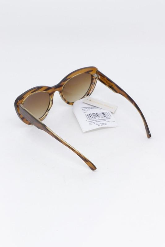 óculos de sol gatinho morena rosa lente degrade marrom. Carregando zoom. f5541d63be