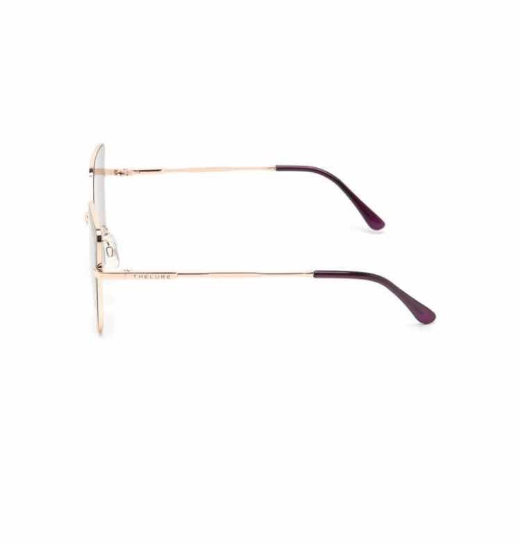 Óculos De Sol Gatinho Thelure Roxo dourado - R  100,00 em Mercado Livre ce95049736