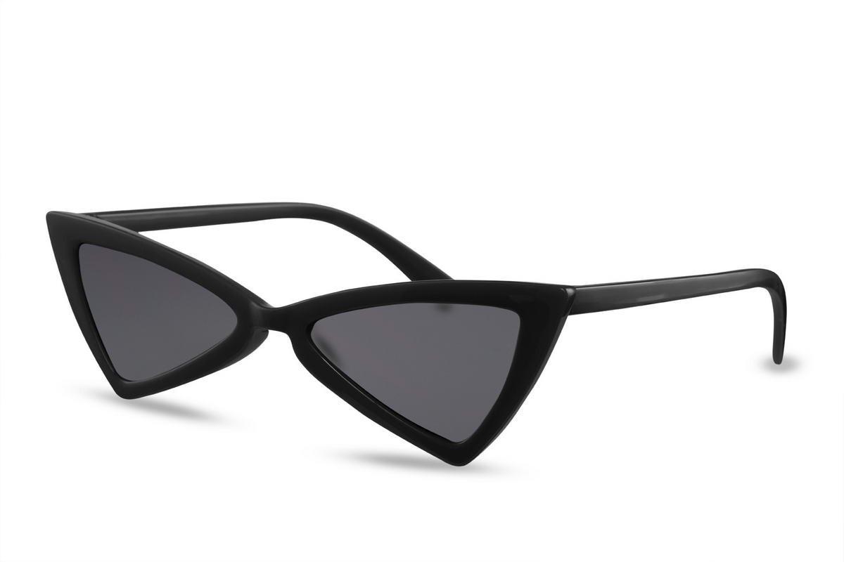 bc9039115f72c Óculos De Sol Gatinho Triangle Vintage Retro Blogueira - R  75